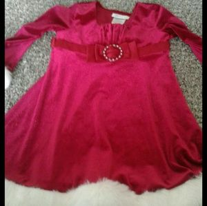 Bonnie Jean Toddler Christmas Dress